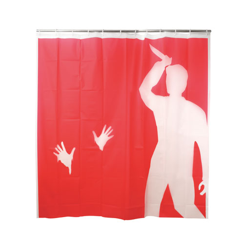 "EVA Shower Curtain ""Psycho"""