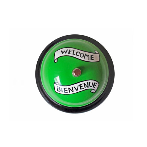 "Desk Bell ""Welcome"""