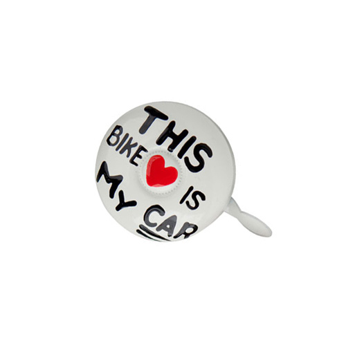 "Dring Dring Bike Bells ""This bike is my car"""
