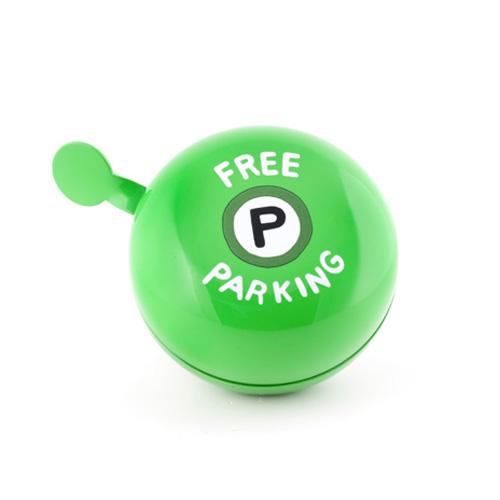 """Large Dring Dring Bike Bells """"Free parking"""""""