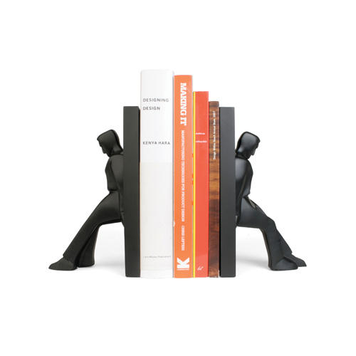 Leaning Men Bookends set of 2