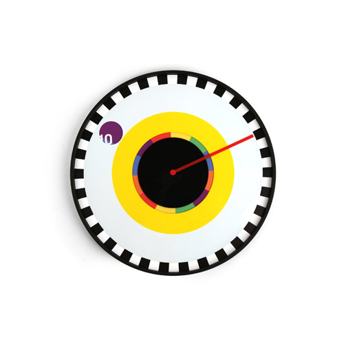 Milton Glaser Sprocket Clock