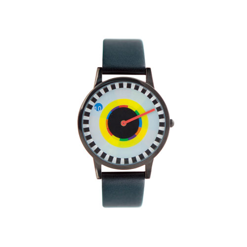 "Milton Glaser Watch ""Sprocket"""