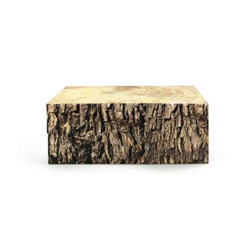 """Woodblock Box """"L"""""""