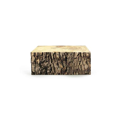 """Woodblock Box """"M"""""""