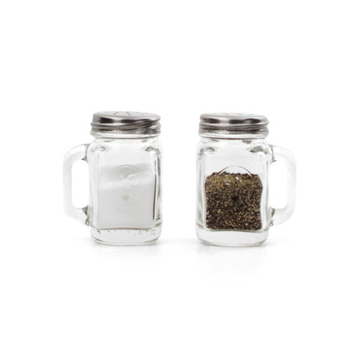 Mason Jar Salt&Pepper Shakers
