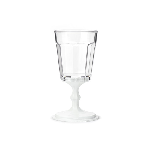 "Stackable Wine Glasses set of 2 ""White"""